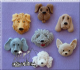 Alphabet Moulds: Dogs Heads